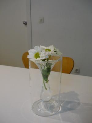 Flores en la consulta